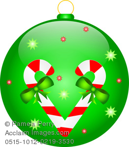 Clip Art Image of a Christmas .