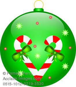 Clip Art Image of a Christmas .