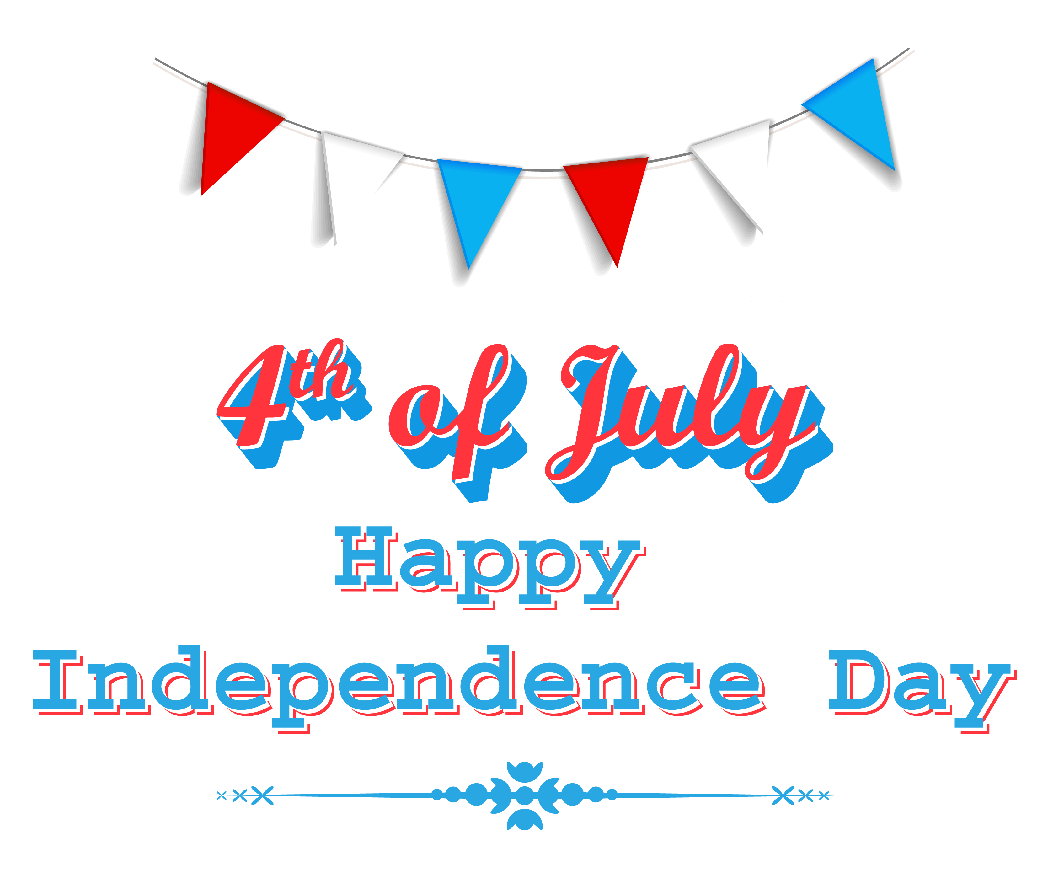 Clip Art Independence Day .