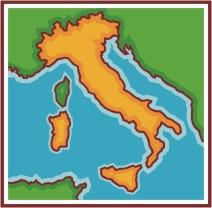 Clip Art Italian. Italy Map-Clip Art Italian. Italy Map-1