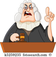 Clip Art. Judge