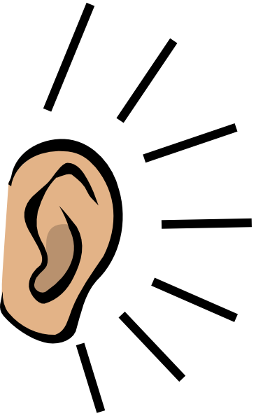 Clip Art Listening Ears Ear