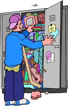 Clip Art Locker Room Lockers-Clip Art Locker Room Lockers-3