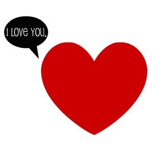 Clip art love heart clipart