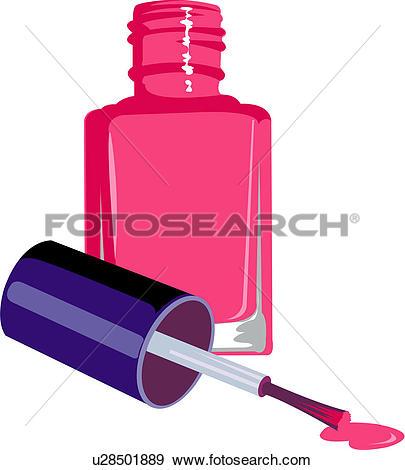 Clip Art - manicure, varnish, beauty car-Clip Art - manicure, varnish, beauty care, make-up, beauty treatment-3
