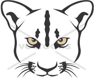 Clip Art U0026middot; Free Cougar Head .-Clip art u0026middot; Free Cougar Head ...-0