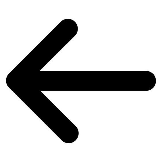 Clip art u0026middot; Left Arrow ...