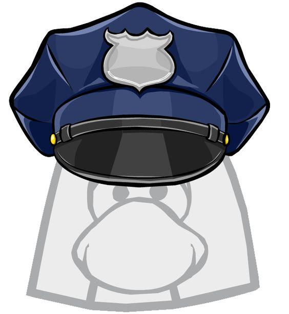 Clip art u0026middot; Policeman Hat ...