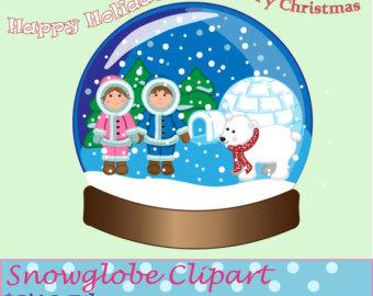 Clip art u0026middot; Snow Globe ...