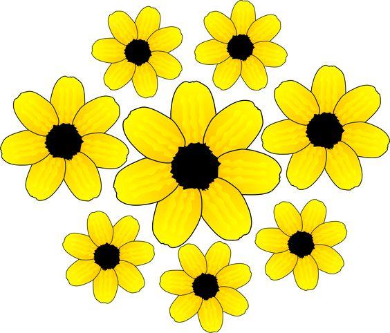 Clip Art U0026middot; Yellow Flower ...-Clip art u0026middot; Yellow Flower ...-1