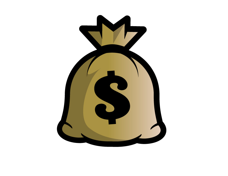 Clip art money bag