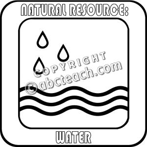 Clip Art: Natural Resources:-Clip Art: Natural Resources:-3