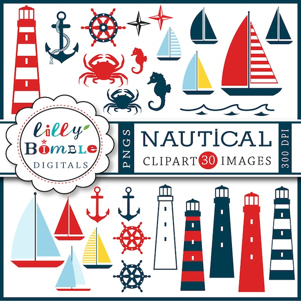 Clip art, Nautical and .