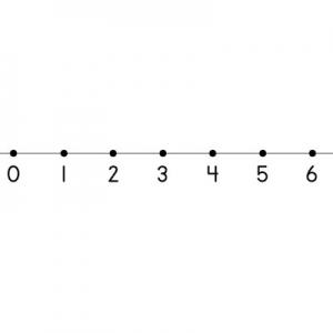 Clip art number . - Number Line Clipart