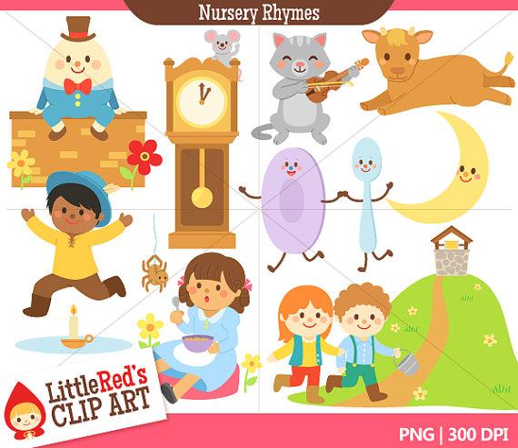 Clip art, Nursery rhymes .
