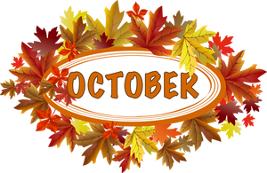 Clip art october clipart image. Funny beautiful images for october wich you  can use on hi5 cliparts