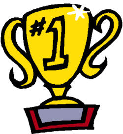 Clip Art Of A 1st Place Trophy
