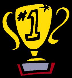 Clip Art Of A 1st Place Trophy