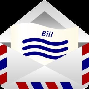 Clip Art Of A Billing Notice Clipart. Bi-Clip Art Of A Billing Notice Clipart. Bill Clipart-9