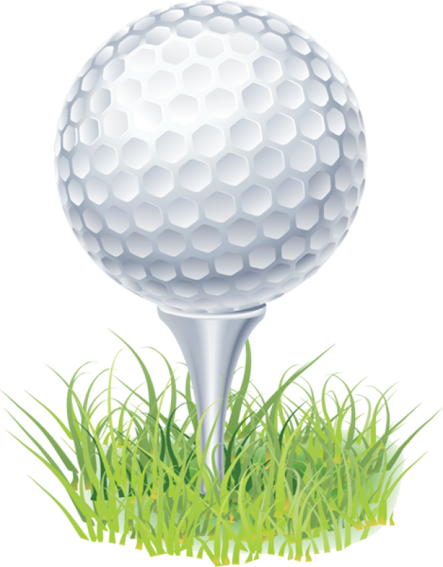 Clip Art Of A Golf Ball On A .-Clip Art of a Golf Ball on a .-1