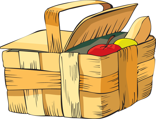 Clip Art Of A Picnic Basket Dixie Allan-Clip Art Of A Picnic Basket Dixie Allan-1