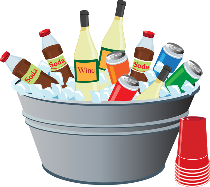 Clip Art Of A Tub Of Drinks Clipart Panda Free Clipart Images