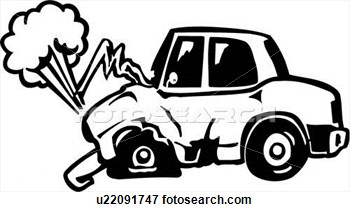 Clip Art Of Accident Auto .