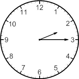 Clip Art of Analog Clocks