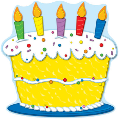 Clip art of birthday cake - ClipartFest