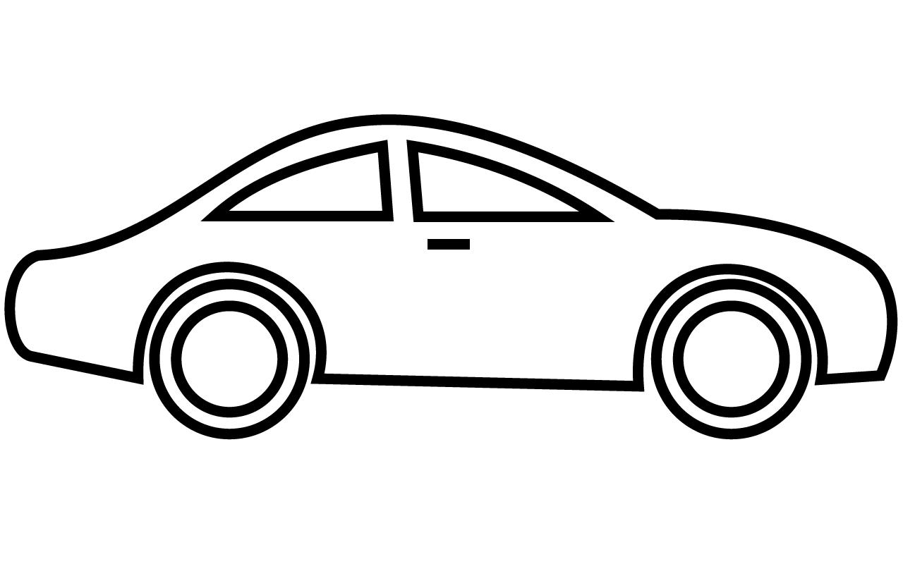 Clip art of car clipart image - Car Clip Art