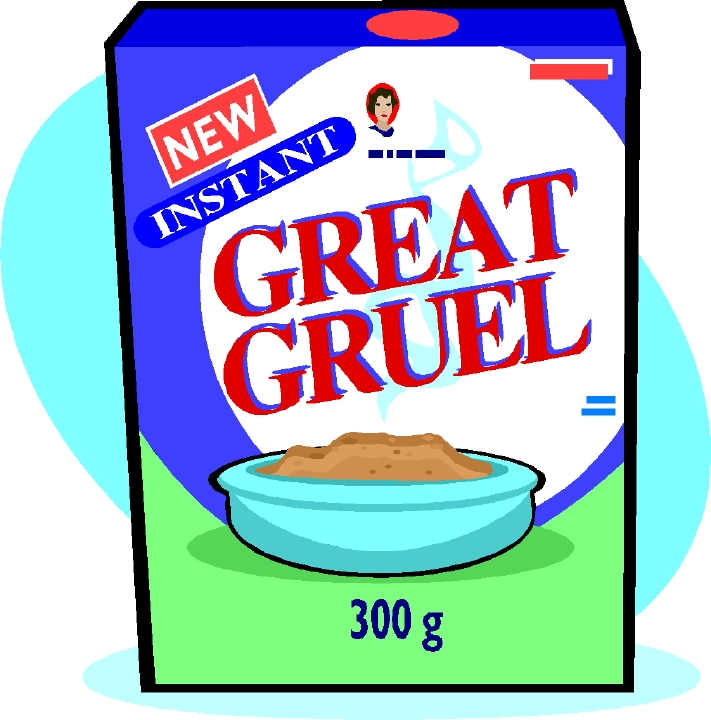 Clip Art Of Cereal Box