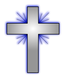 ... Clip art of cross ...