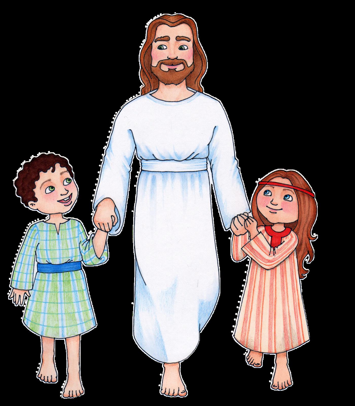 Clip art of jesus with .-Clip art of jesus with .-16