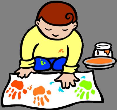 Clip Art Of Kids Crafts