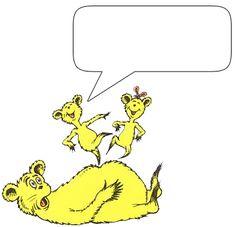 Dr Seuss Character Clipart