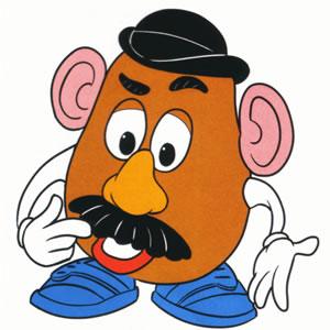 Clip art of Mr. Potato Head