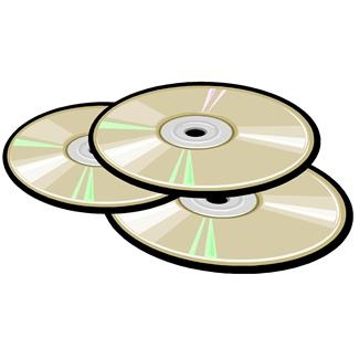 Clip Art Of Multiple Cds ..-Clip Art Of Multiple Cds ..-4
