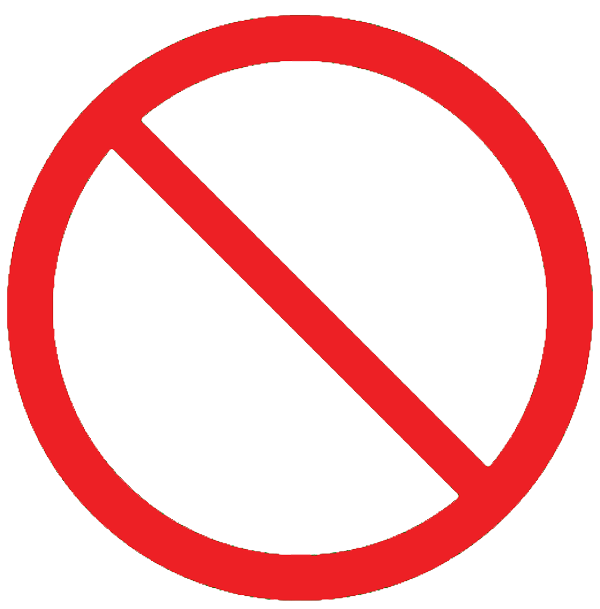 Clip Art Of No A No Smoking Sign