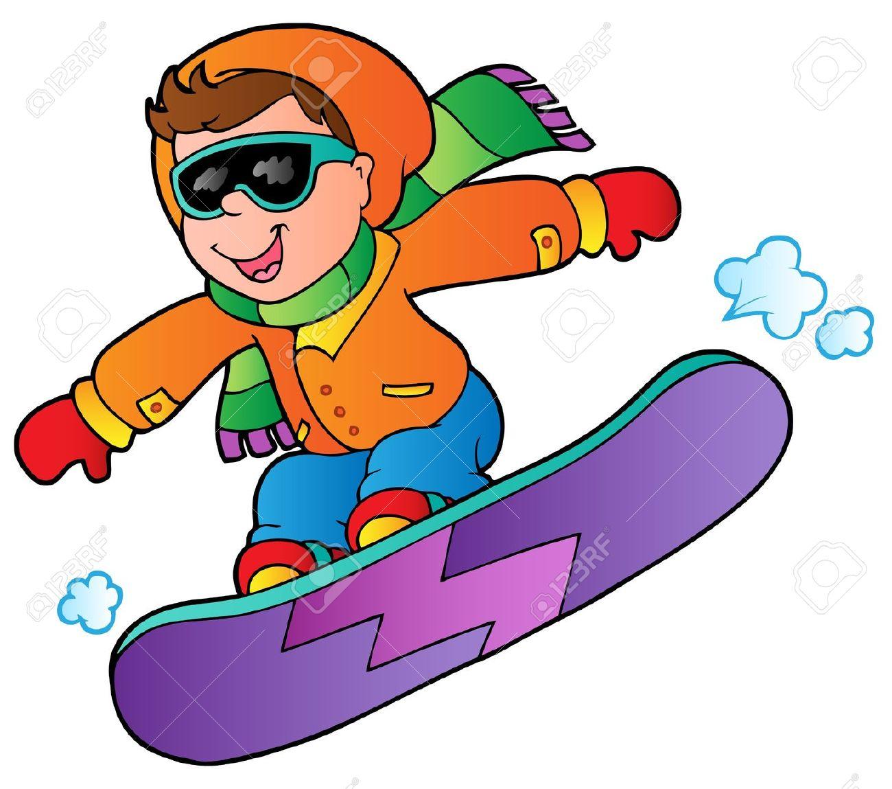 Clip art of snowboarding-Clip art of snowboarding-2