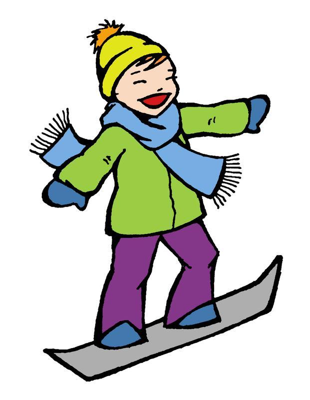 Clip art of snowboarding-Clip art of snowboarding-10