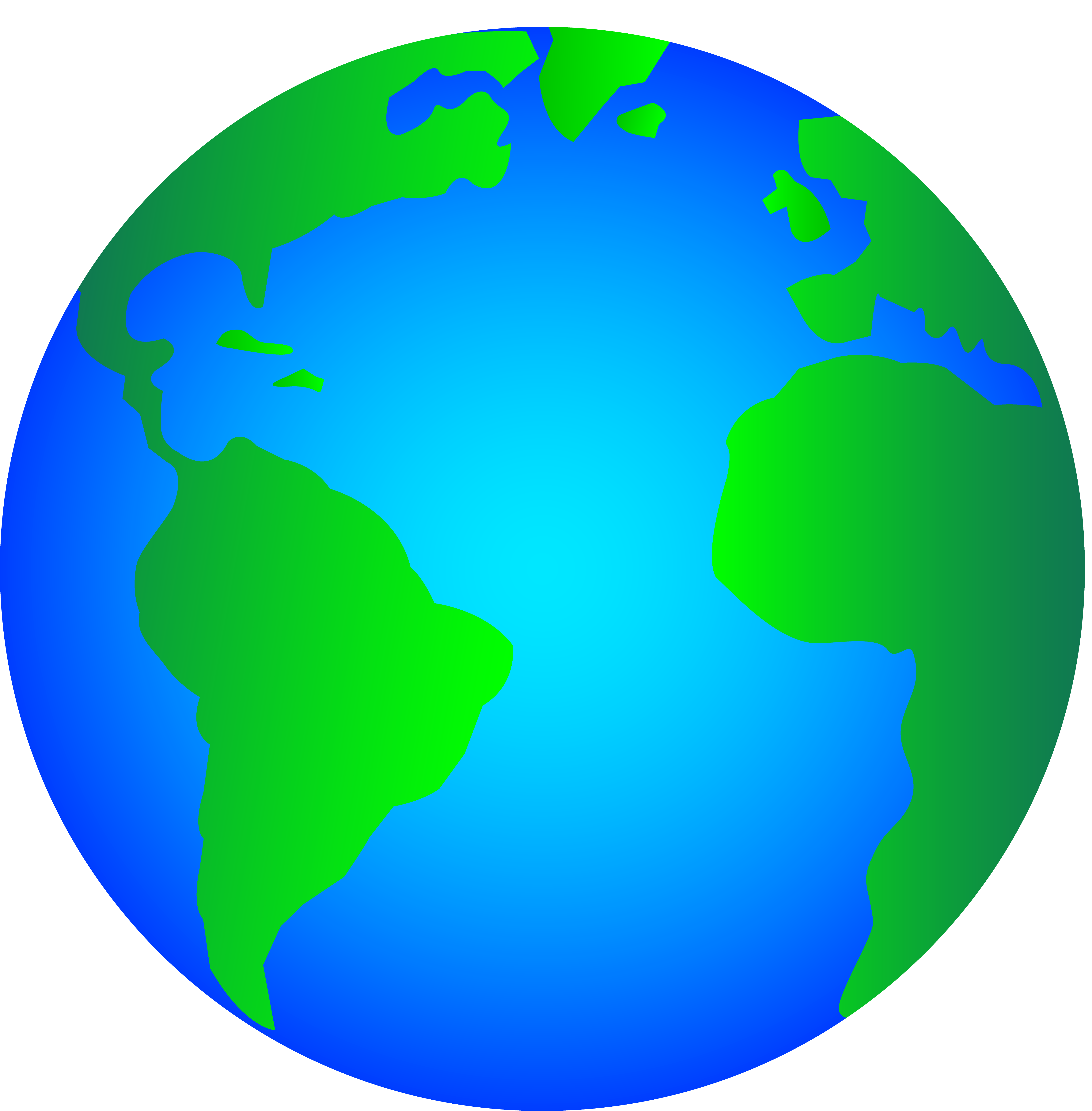 Clip Art Of World