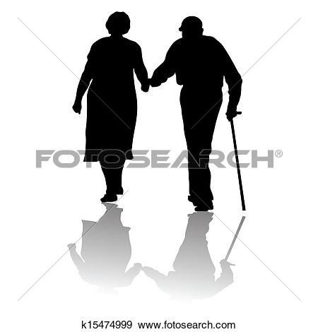 Clip Art. old people