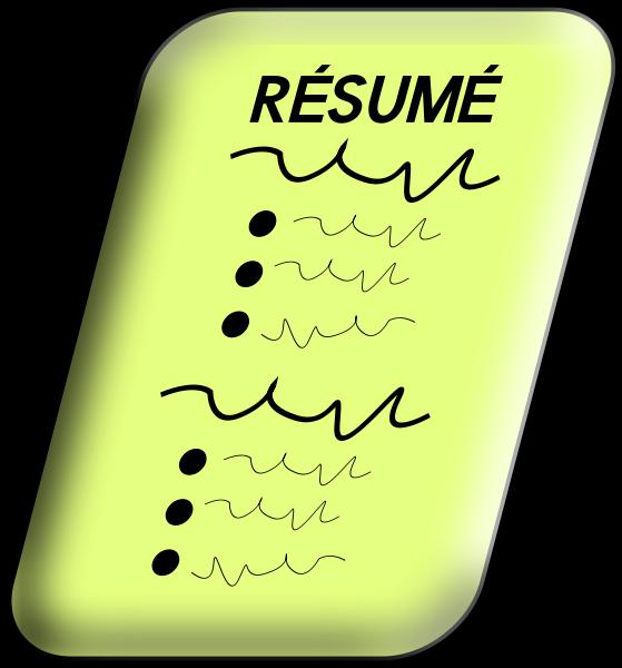Clip art on resumes