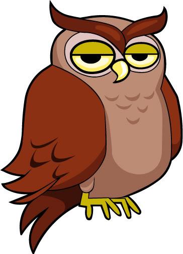 Clip Art Owl Eating Clipart-Clip Art Owl Eating Clipart-3
