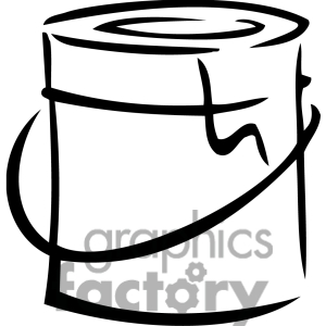 Clip Art Paint Can Clipart paint can bla-Clip Art Paint Can Clipart paint can black clipart images clipartall and white can-8