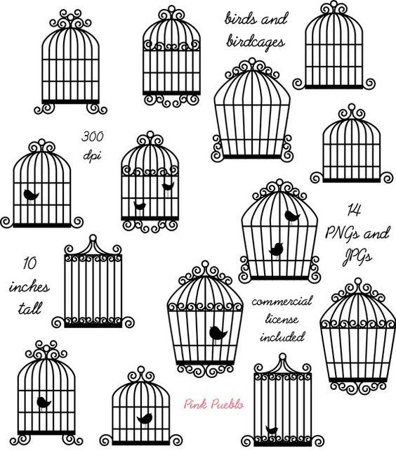 Clip Art Pictures, Birdcage Clip Art Cli-Clip Art Pictures, Birdcage Clip Art Clipart, Bird Cage Clip Art Clipart - Commercial-8