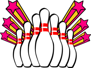 Clip art pictures, Bowling and .