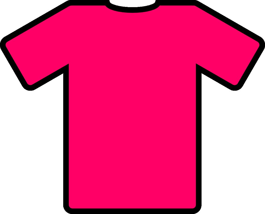 Clip Art Pink T Shirt