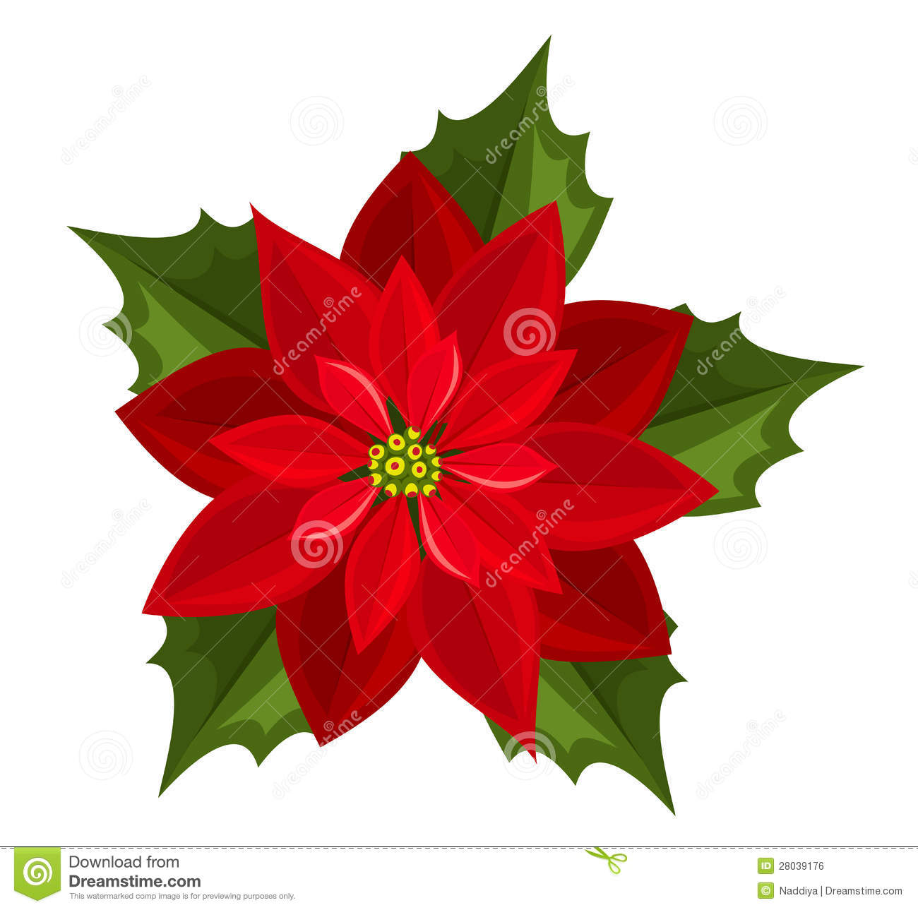 Clip Art Poinsettia Clipart poinsettia clipart free clipartfox red  poinsettia