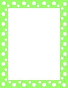 Clip Art; polka dot .